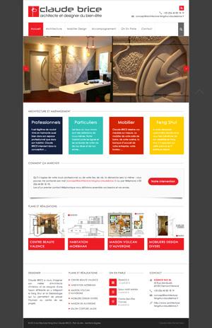 cr ation site internet de claude brice expert en architecture feng shui pour vos am nagements. Black Bedroom Furniture Sets. Home Design Ideas