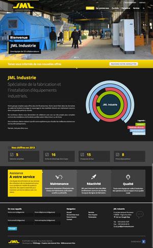 Création site internet - JML Industrie
