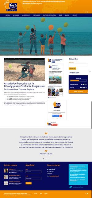 Création site internet - FOP France