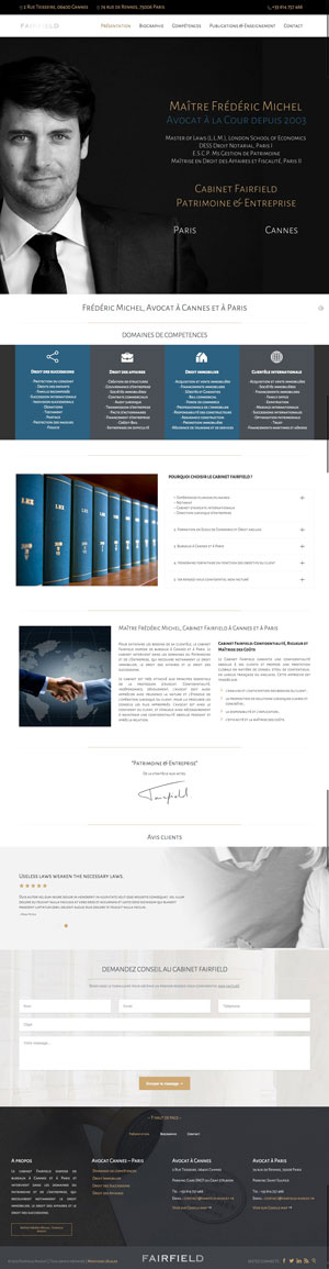 Avocat Cannes - Cabinet Fairfield