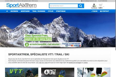 Référencement Naturel SportAixTrem – Magasin de sport