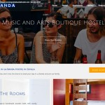 Création site internet La Banda Hostel à Seville