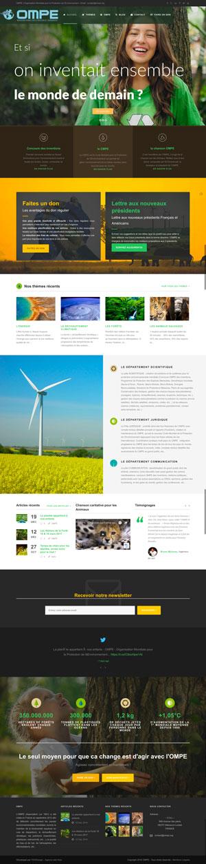 Création site internet - OMPE