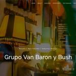 Création site internet Grupo Van Baron y Bush