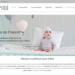 Création site internet ManiPani – Boutique bébé