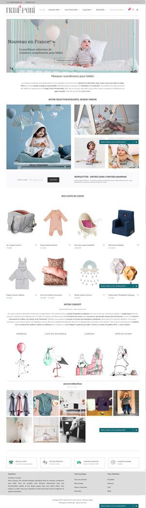 ManiPani | Boutique bébé marques scandinaves | Elégance & Qualité