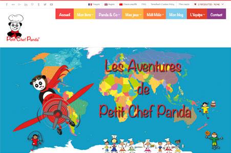 Référencement Naturel Petit Chef Panda – Livre de recettes pour enfants