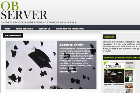 Creation site internet Journal l'OBserver