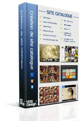 Création site catalogue à Nice