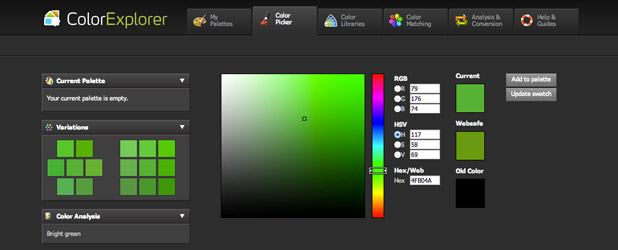 Color Explorer – L'outil de section de couleurs indispensable pour les designers