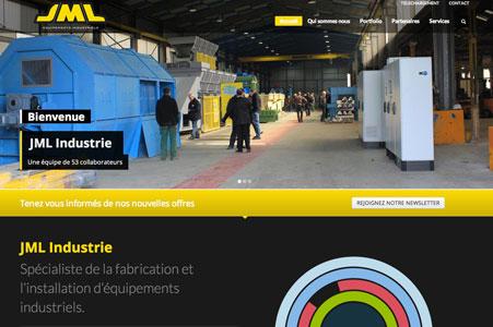 Création site internet JML Industrie