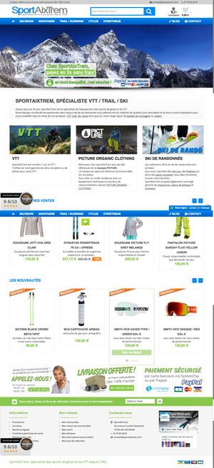 SportAixTrem - Magasin de sport de glisse et montagne