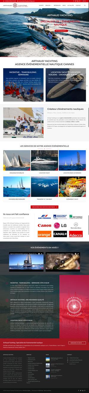 Agence événementielle - Arthaud Yachting