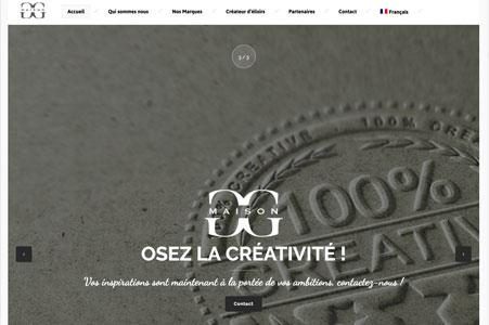 Création site internet Maison G&G