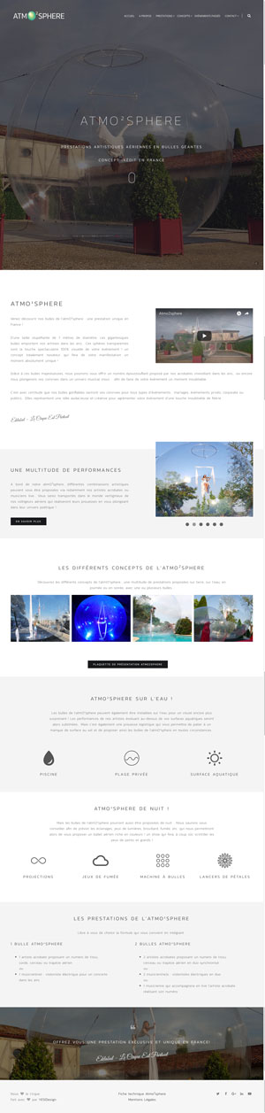 AtmO²sphere | Spectacle artistique