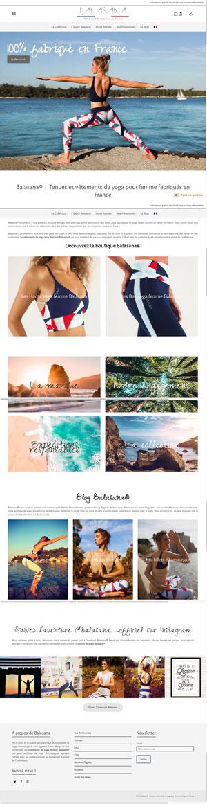 Balasana® | Tenues et vêtements de yoga pour femme fabriqués en France