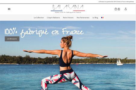 Référencement de Balasana® | Tenues et vêtements de yoga