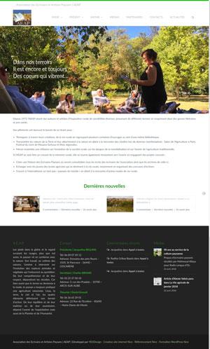 Création site internet AEAP