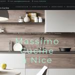 Création site internet Massimo Cucine – Cuisiniste Nice
