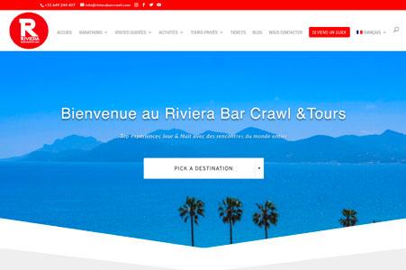 Référencement de Riviera Bar Crawl & Tours