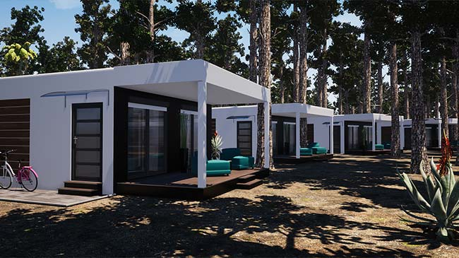 SOL'HAB Camp | Maison modulable