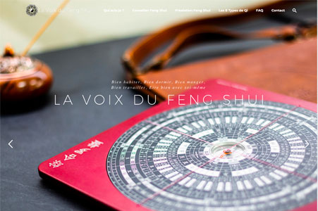 Création site internet La Voix du Feng Shui