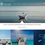 Création site internet World Charter Arthaud Yachting