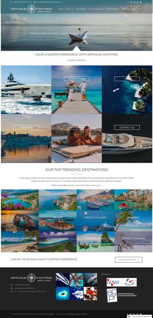 Yacht Charter around the world | Arthaud Yachting