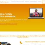 Création site internet Digilangues |Cours en visioconférence